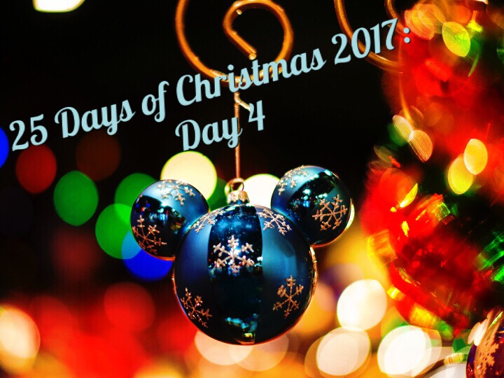 25 days of christmas 2017 day 4